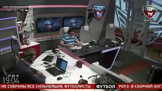 100% Футбола. Гость - Денис Соловьёв - глава Комитета РФС по маркетингу. 07.06.2018