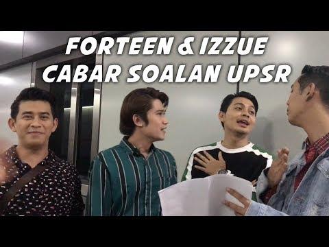 Forteen bersama Izzue sahut cabaran tiga soalan UPSR susah giler... | Berani Jadi Papa, 6 Dis