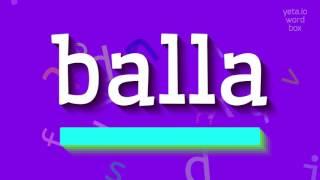 Download lagu How to sayballa MP3