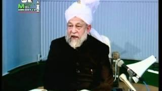 Arabic Darsul Quran 27th February 1994 - Surah Aale-Imraan verses 162-164 - Islam Ahmadiyya