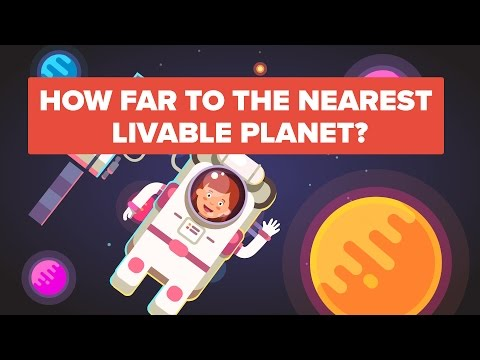Thumbnail: How Long Would it Take to Get to the Nearest Habitable Planets ( TRAPPIST-1 )?
