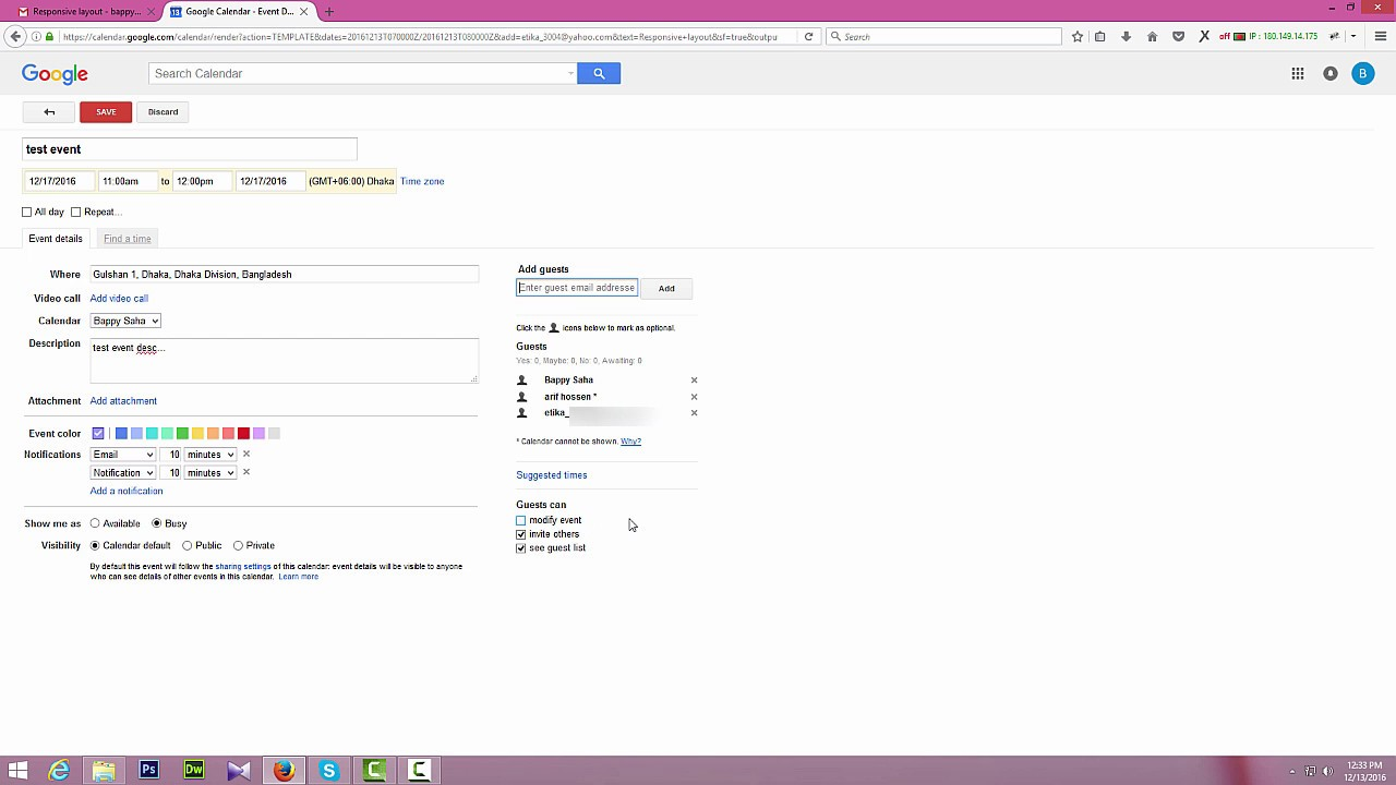 How to create google calendar invite and send invitation in gmail how to create google calendar invite and send invitation in gmail stopboris Images