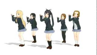 MMD - K-ON Nyan Nyan Test