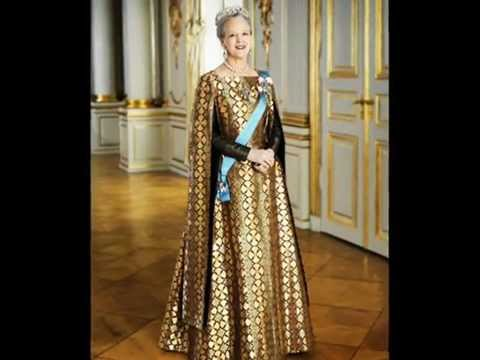 40 years of the Queen - Official Portraits Queen Margrethe II of Denmark