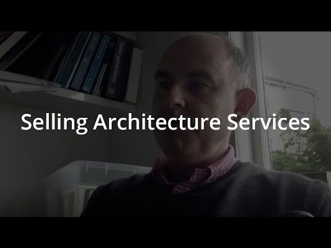 Selling Architecture Services