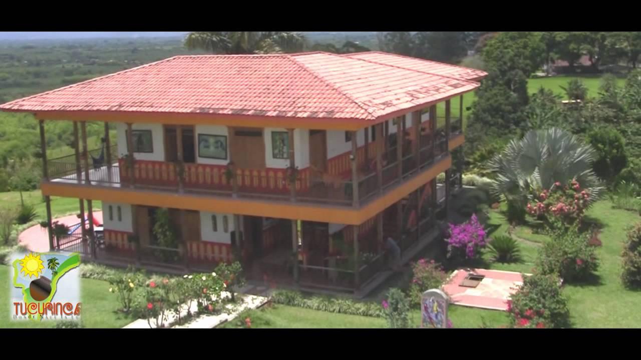 Finca turistica tucurinca quindio eje cafetero youtube for Casas en la finca