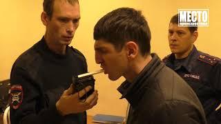 Пьяный водитель Ниссана поехал после ДТП, ул  Орджоникидзе  Место происшествия 15 10 2019