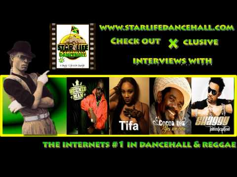 StarLife Exclusive Interviews with -Beenie Man-Shaggy-Cocoa Tea & Tifa