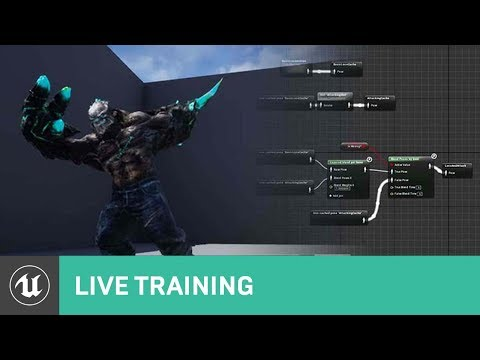 Character Animation in UE4 | Live Training | Unreal Engine L