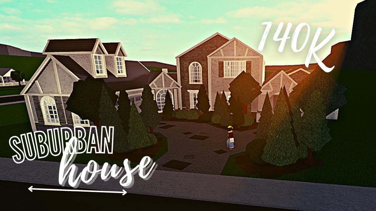 Download Bloxburg: Suburban House (140k)