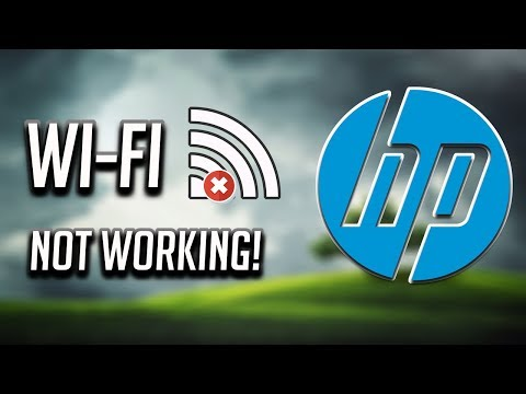 Fix HP Wi-Fi Not Working In Windows 10/8/7 [2020]