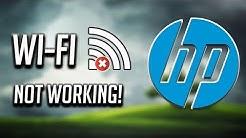 Fix HP Wi-Fi Not Working in Windows 10/8/7 [2020]