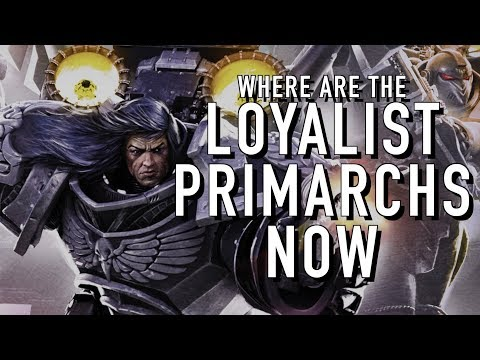 40 Facts and Lore on the Whereabouts of the Primarchs Warhammer 40K