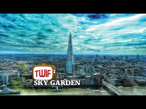 VIEW FROM THE LONDON SKY GARDEN