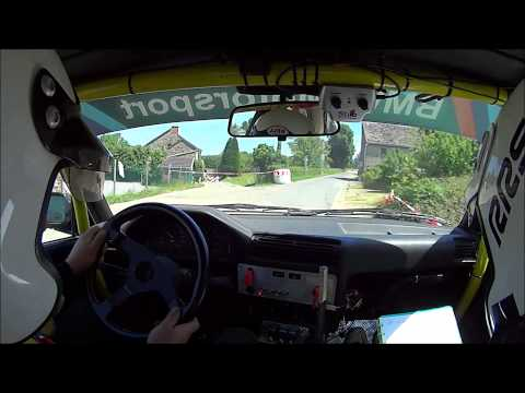 Onboard TWT RS Erezée 2015 - Patate & Seron - Boucle 2 - BMW E30 318is