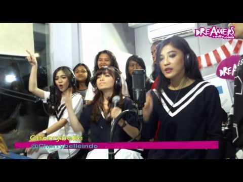 Cherrybelle -  Pergi Ke bulan (Feat Twibies)
