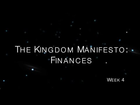 2015.1.25 The Kingdom Manifesto-Finances