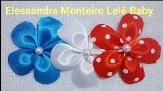 DIY:Flor de Cetim