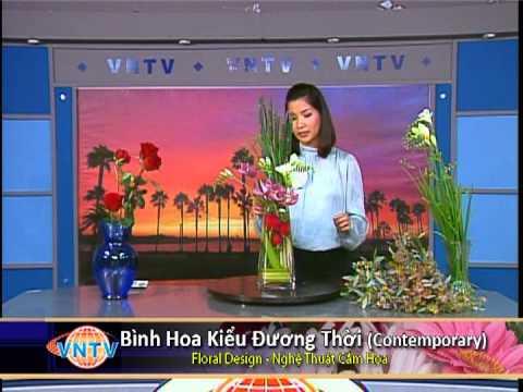 Floral Design - Nghệ Thuật Cắm Hoa: Bình Hoa Contemporary
