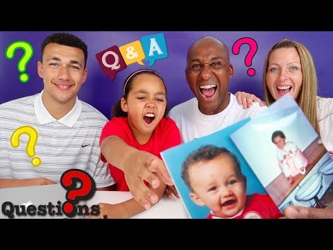 Q&A Kids React To Old Photos