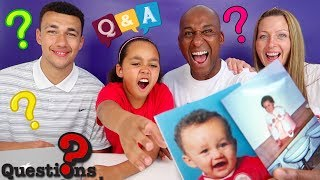Famtastic Family Q&A, Your Questions Answered! Kids React To Old Photos