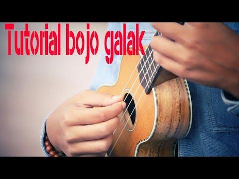 tutorial bojo galak versi ukulele