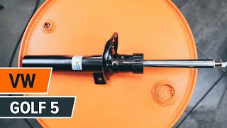 Zelf Schokdempers monteren video-instructie op VW GOLF