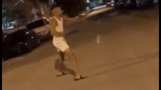 NLE Choppa Fights Ghost That Stole His Chain