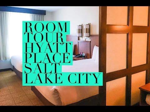 Hyatt Place Salt Lake City Room Tour