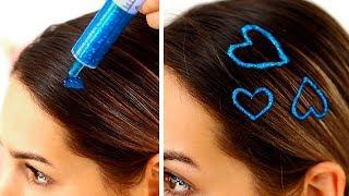 15 лайфхаков для волос / Простые прически