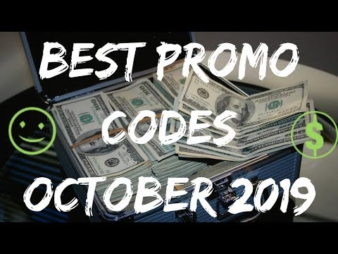 BEST PROMO CODES IN THE WORLD OCTOBER 2019 🤑 MANY FREEBIES 🎁
