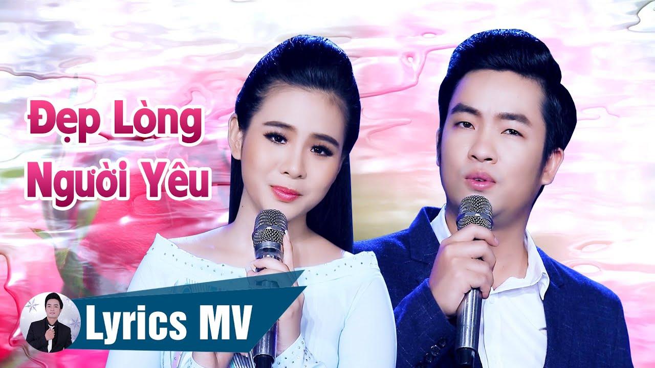 [Lyrics MV] Đẹp Lòng Người Yêu - Thiên Quang ft. Quỳnh Trang (Có Lời Bài Hát)