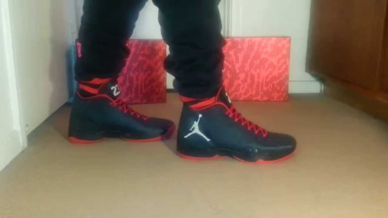 42858bc356c18 ... spain on foot air jordan xx9 gym red youtube f0873 3ac35