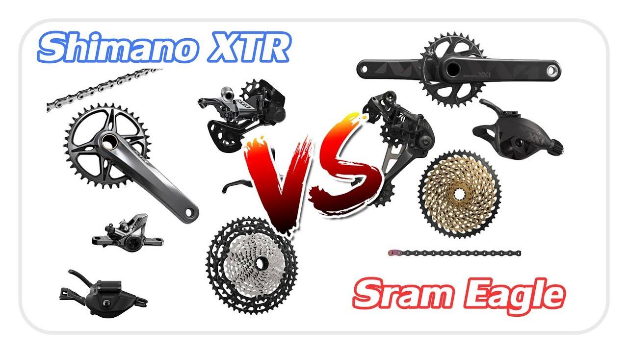 SHIMANO XTR vs SRAM EAGLE