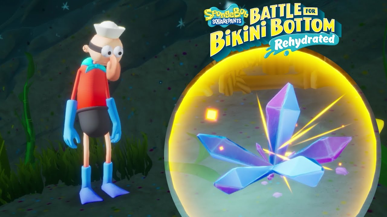 Bob Esponja Battle for Bikini Bottom Rehydrated #16 EL NUEVO SUPER PODER DE CHICO PERCEBE!