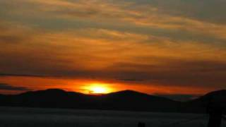 Tarbert - Sunset over Jura