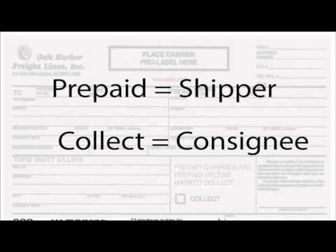 Bill of Lading Basics part 1