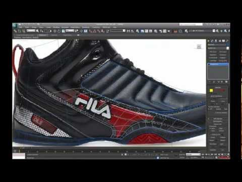 Speed modeling a high poly shoe. PART 1