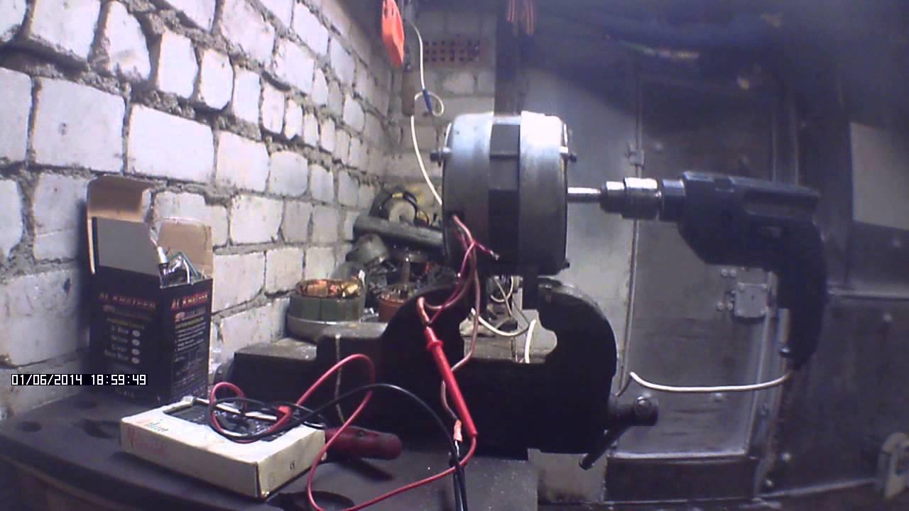 Ветрогенератор своими руками из автомобильного фото 662
