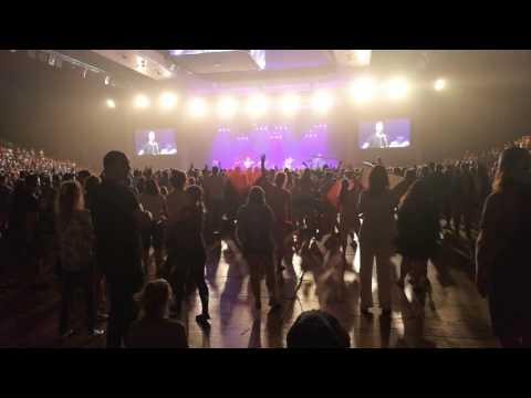 Prophetic warlike dances at Awakening Europe Conference 2017, Prague, Tipsport Arena, Friday evening