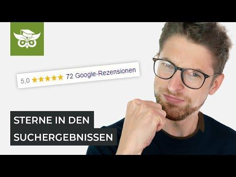 Google Sterne Rich Snippet: Sternebewertung Für Deine Firma Anzeigen