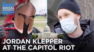 Jordan Klepper Sees It All at The Capitol Insurrection | The Daily Social Distancing Show