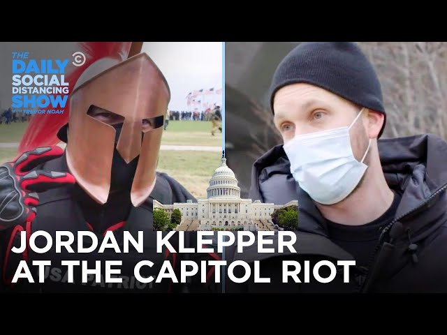 Jordan Klepper Sees It All at The Capitol Insurrection   The Daily Social Distancing Show