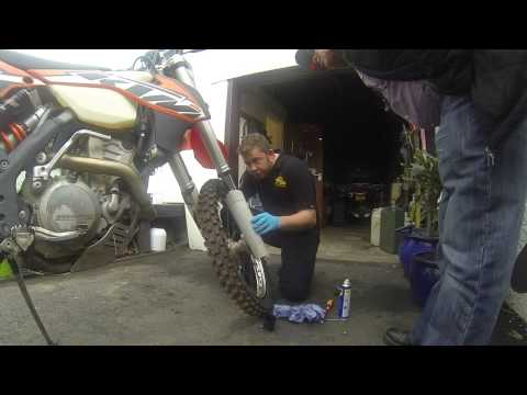 how to use ktm fork seal doctor