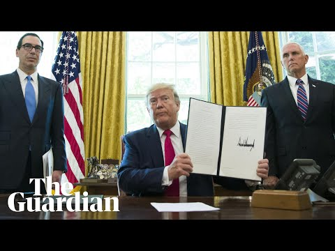 Donald Trump orders fresh sanctions against Iran's Ali Khamenei