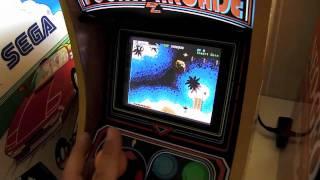 Pocket Arcade, the Blue Elf mini arcade!