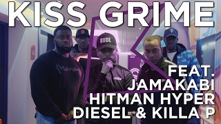 Jamakabi, Hitman Hyper, Diesel & Killa P Freestyle + Chat | KISS Grime with Rude Kid