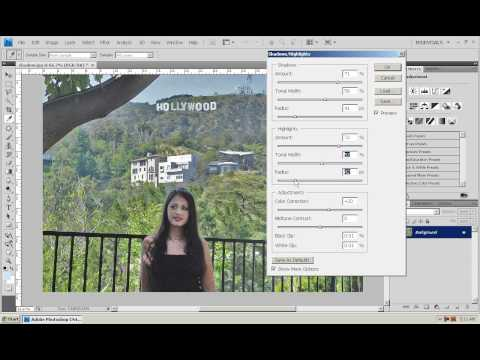 Photoshop CS4 - Phan 1 - Bai 19 - Shadows & Highlights