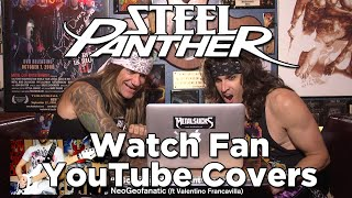 STEEL PANTHER Watch Fan YouTube Covers | MetalSucks
