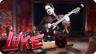 Musik-Prominenz auf Lukes Couch
